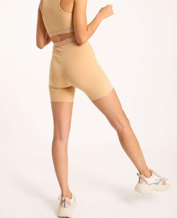 Loungewear fietsbroekje beige