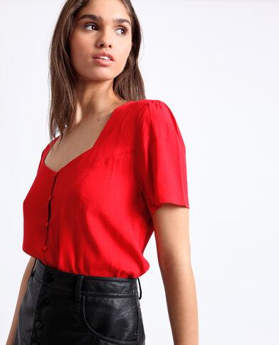 Hemdbody rood