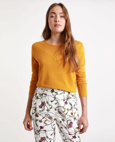 Lichte trui. geel