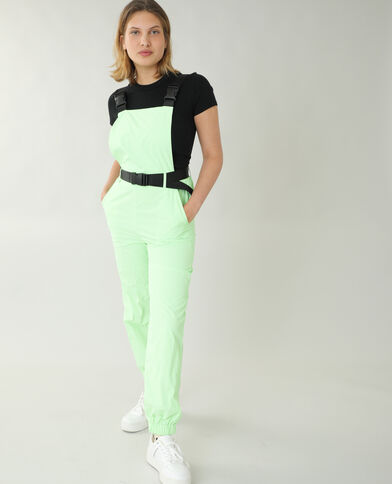 Fluo salopette groen - Pimkie