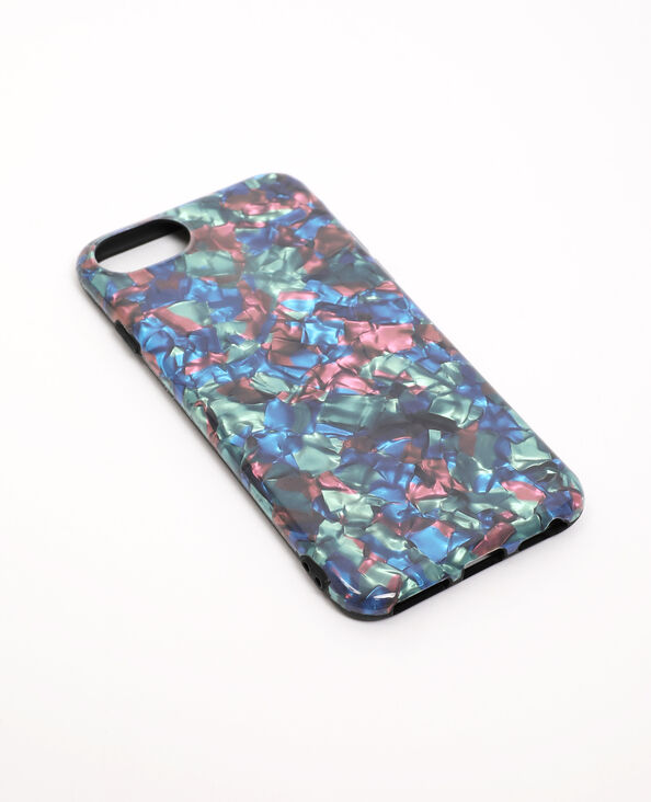 Coque iPhone 6/6S/7/8 bleu - Pimkie