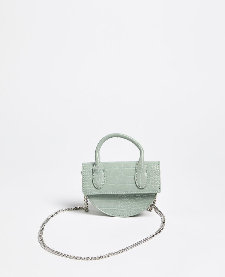 Mini sac demi-lune vert
