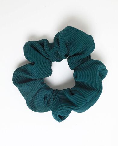 Chouchou texturé vert