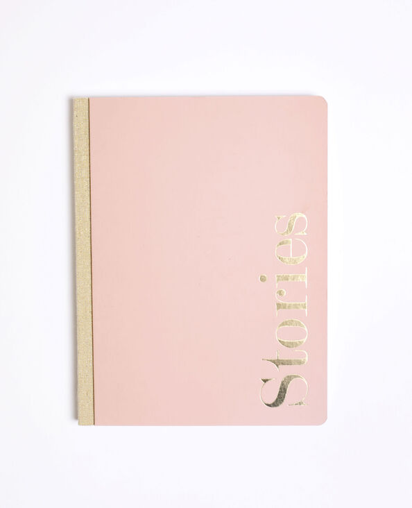 Notebook rigide rose nude