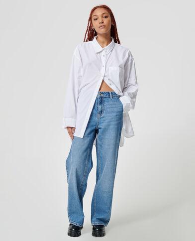 Straight-fit jeans denimblauw - Pimkie