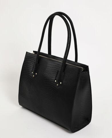 Grote, harde tas zwart