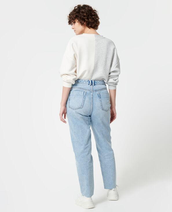 Motrashte mom jeans Lichtblauw - Pimkie