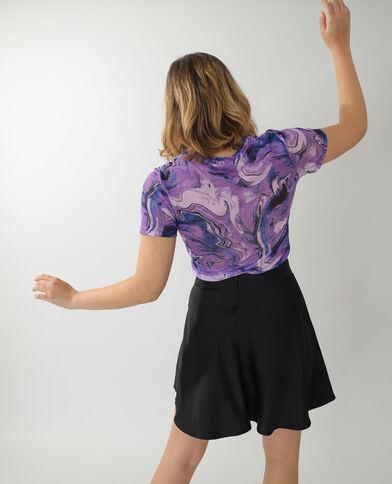 T-shirt transparent violet - Pimkie