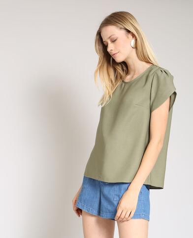 Soepele blouse groen