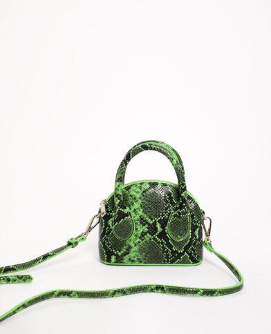 Petit sac rigide vert d'eau