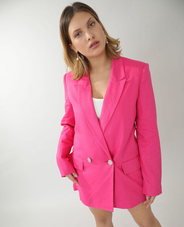 Veste city rose fuchsia - Pimkie