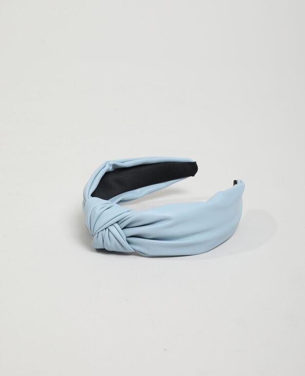 Diadeem van kunstleer blauw - Pimkie