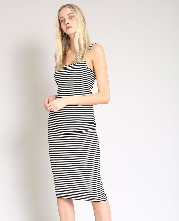 e83fc84b98d6fb Strakke jurk wit - 780881900C08