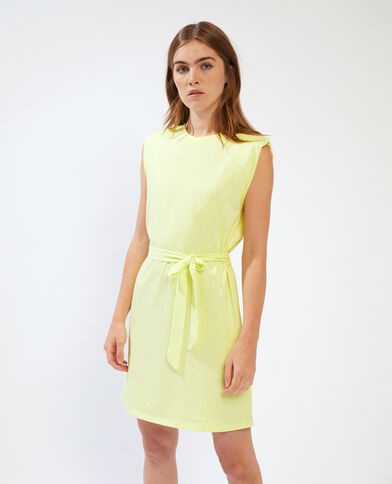 T-shirtjurk met epauletten groen - Pimkie