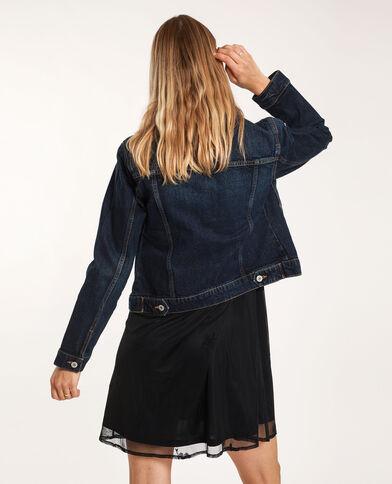 Donkerkleurig jeansjasje donkerblauw - Pimkie