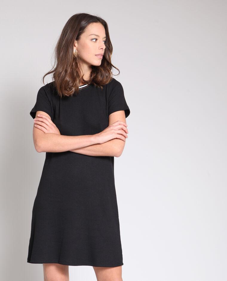 883aaea272b Robe t-shirt noir - 780921899A08