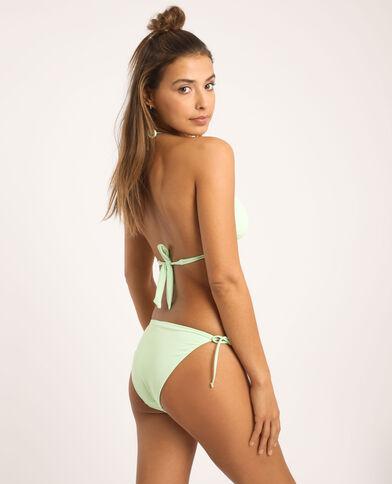 Driehoekige bikinitop fluogroen