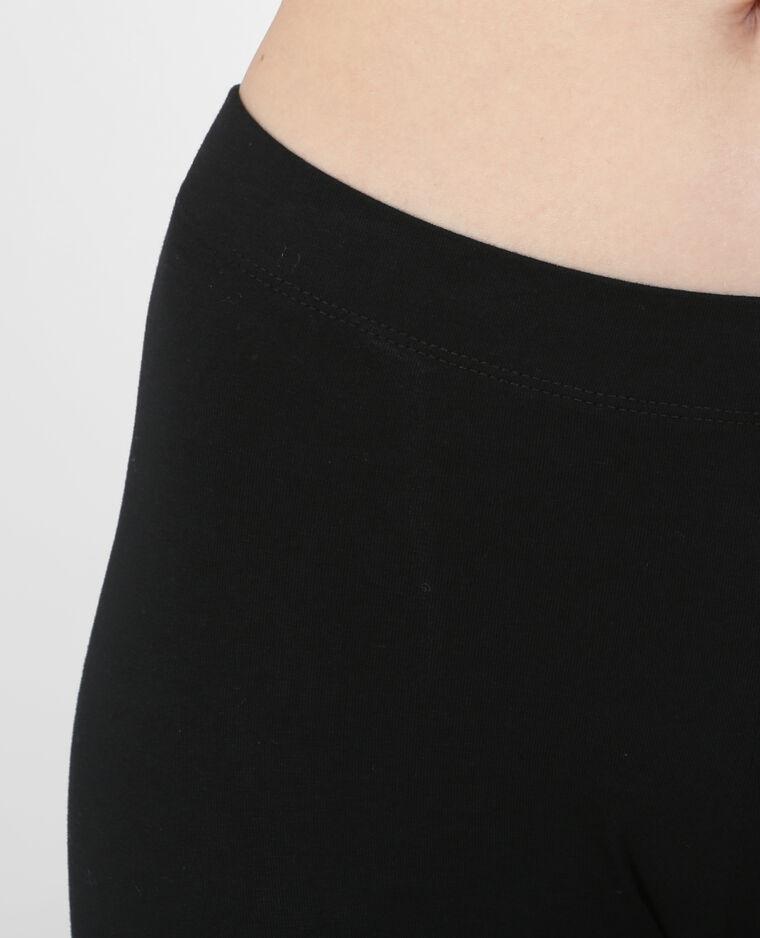 Legging court noir