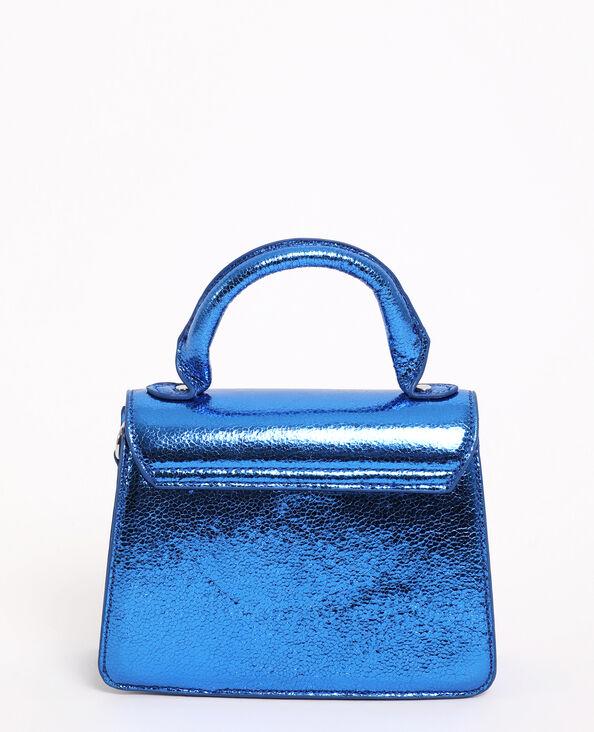 Boxy-tas blauw