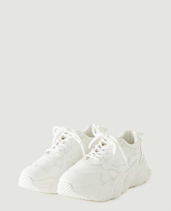 Baskets compensées blanc - Pimkie