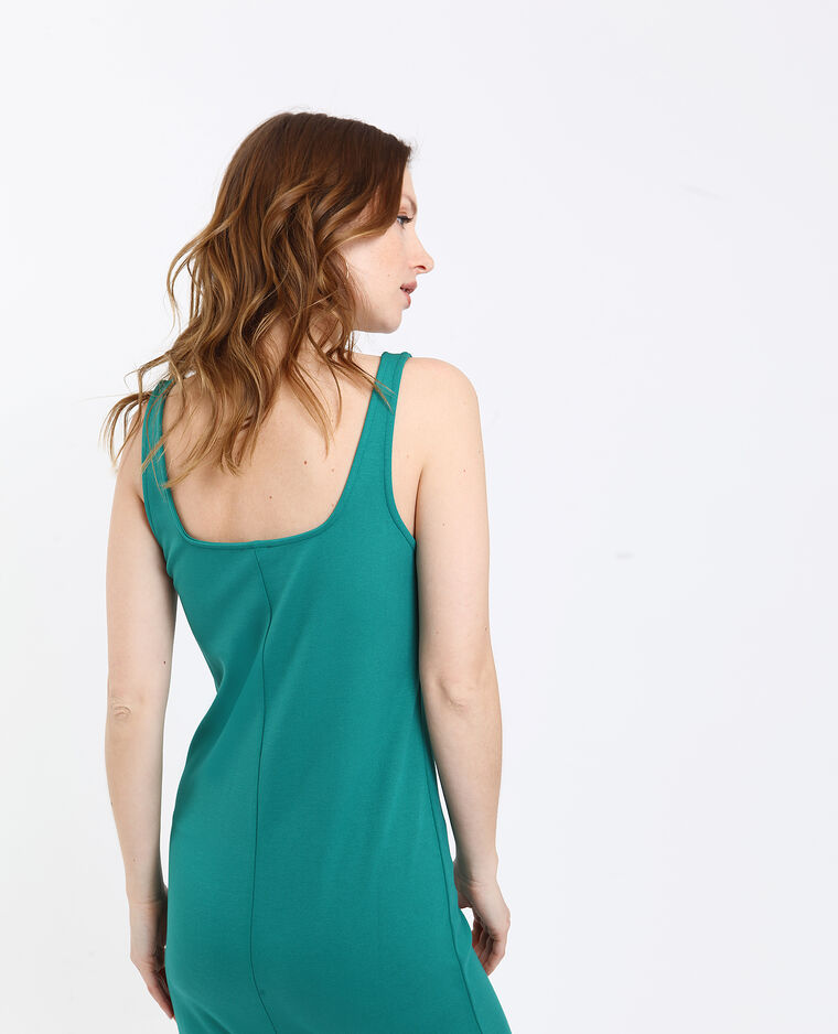 Strakke jurk groen
