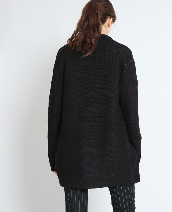 Warm vest zwart