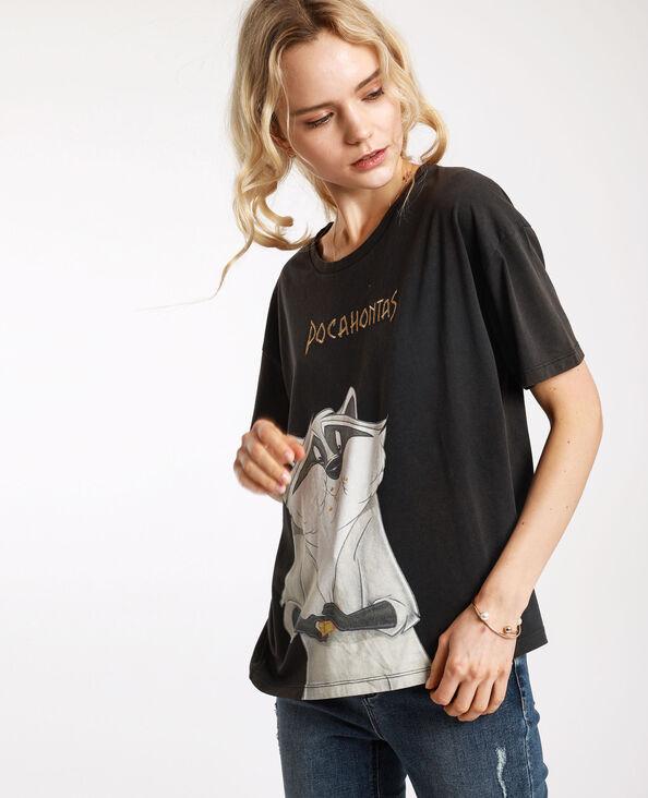 T-shirt Pocahontas gris