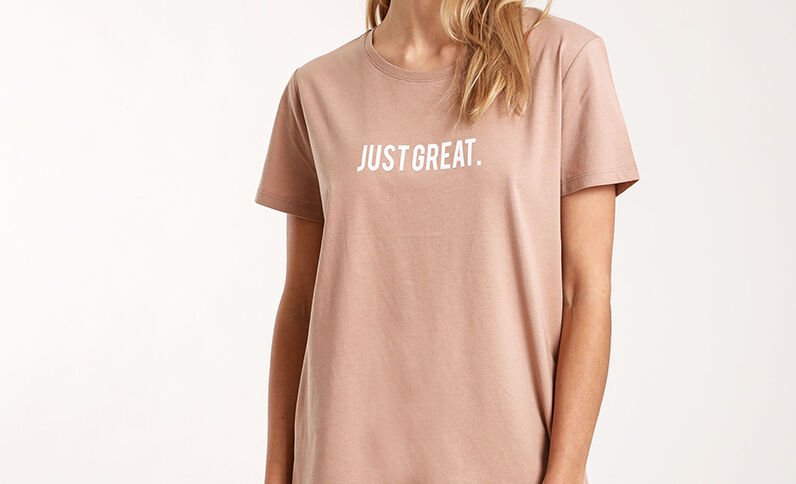 T-shirt à message Camel