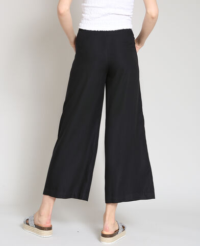 Pantalon palazzo noir