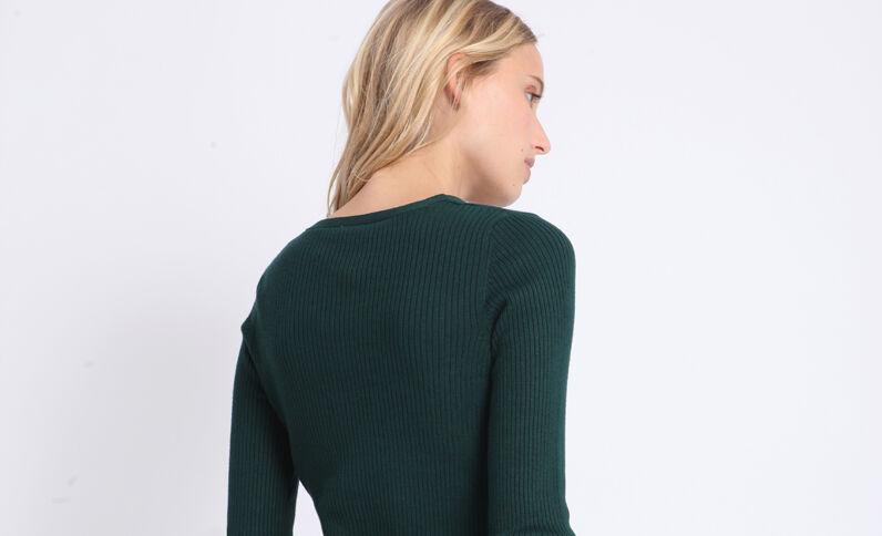 Kort vest groen