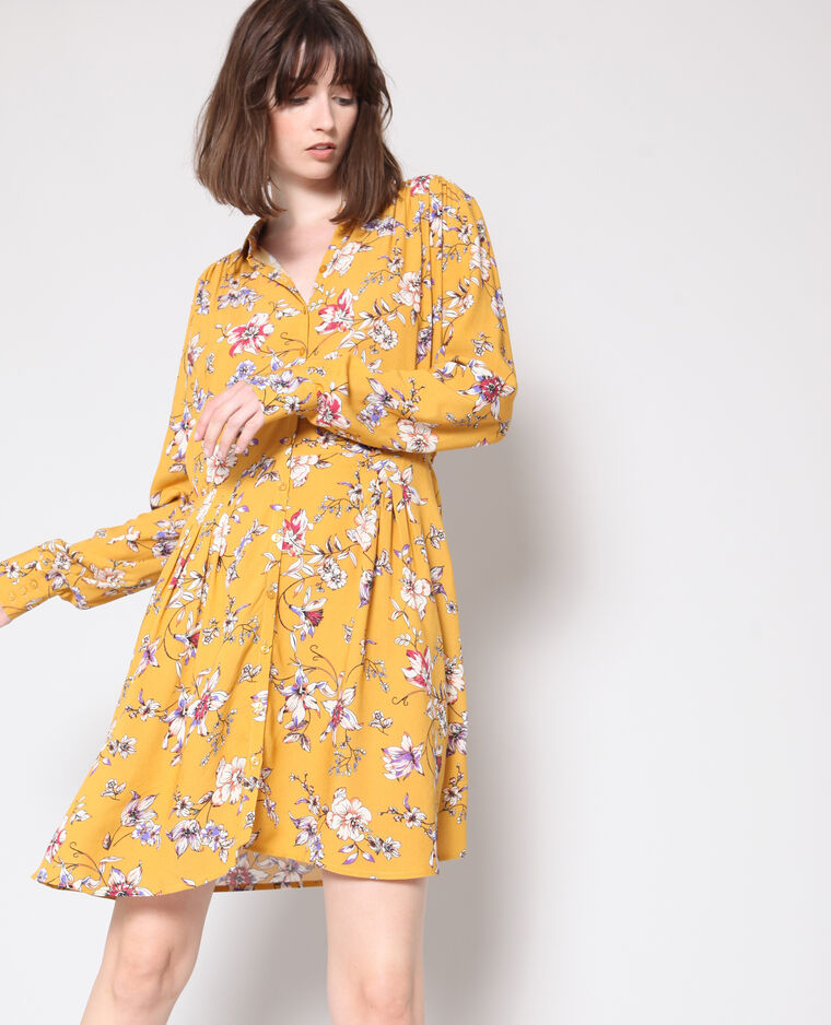 a59599331b8 Robe à fleurs jaune - 780928003E20