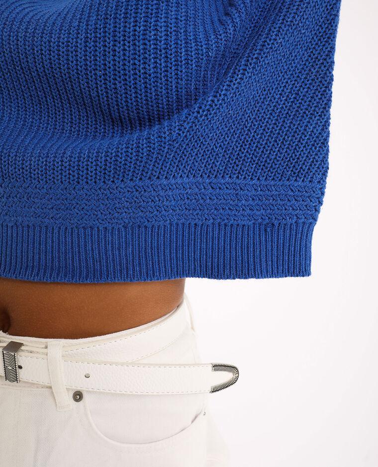 Pull basique Bleu