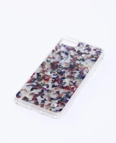 Veelkleurig iPhone-hoesje marineblauw