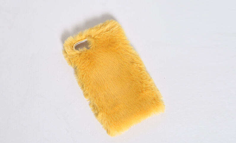 Coque compatible iPhone 6 moutarde