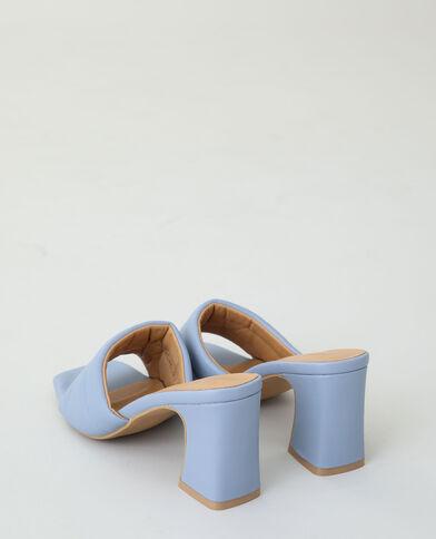 Mules à talons bleu aqua - Pimkie
