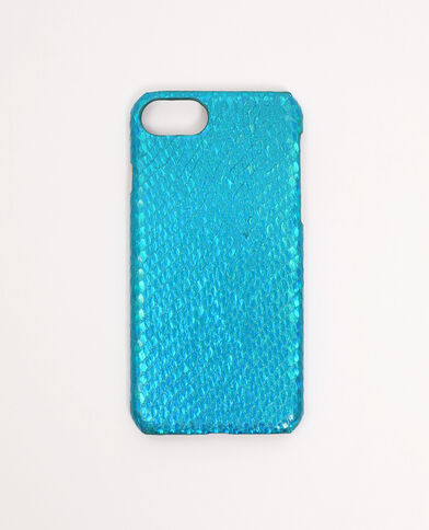 Coque iPhone 6/6S/7/8 bleu