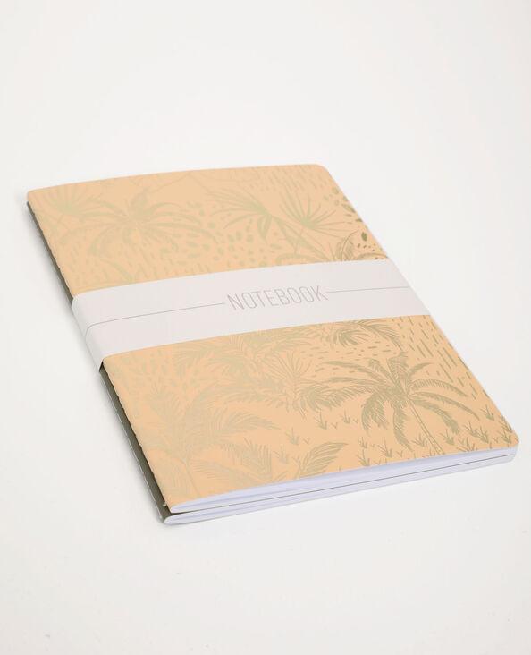 Set van 2 notitieboekjes kaki