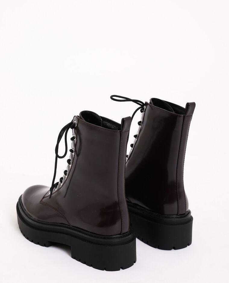 Boots rock bordeaux