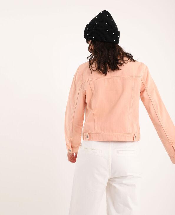 Jeansjasje bleekroze