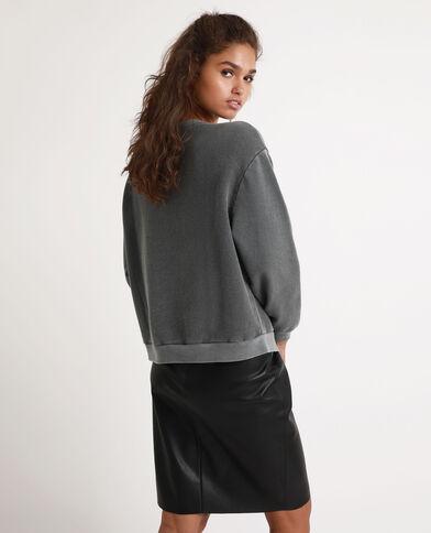 Sweater met sterrenbeelden grijs