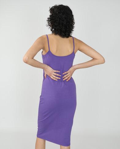 Lange strakke jurk violet - Pimkie