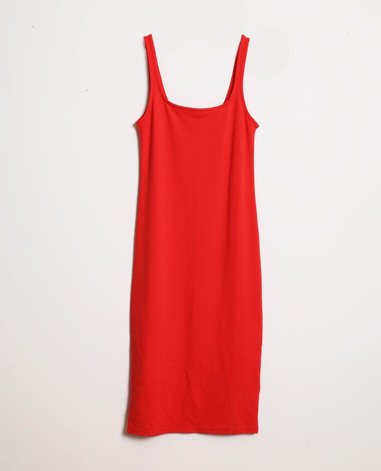 Robe bodycon rouge