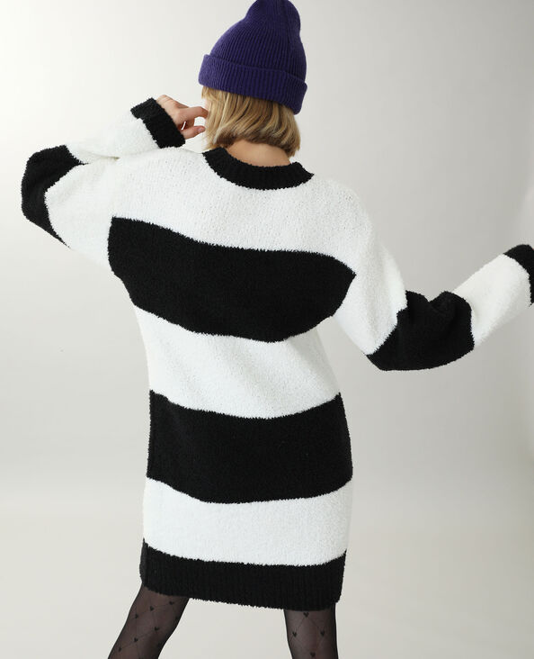 Trui-jurk zwart - Pimkie