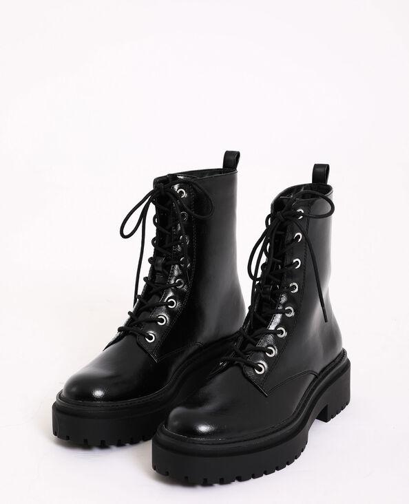Boots rock noir