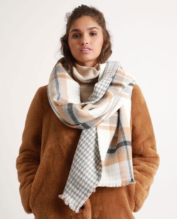 Omkeerbare sjaal Beige