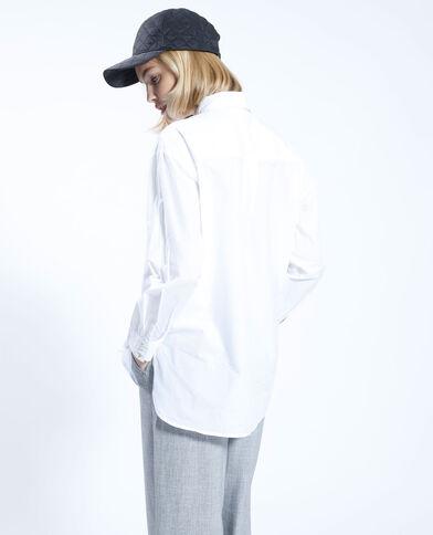 Oversized wit hemd wit - Pimkie