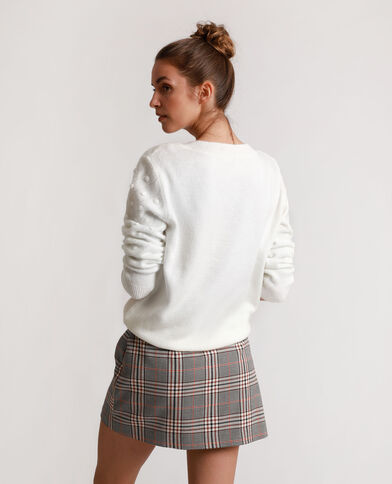 Originele trui gebroken wit
