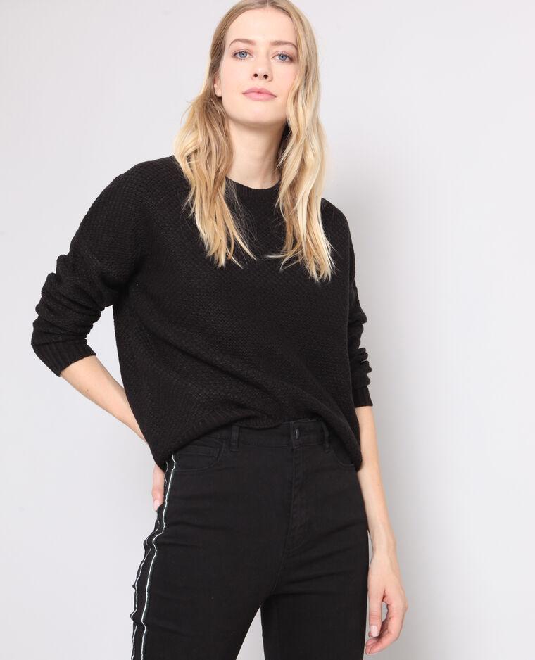Effen trui zwart