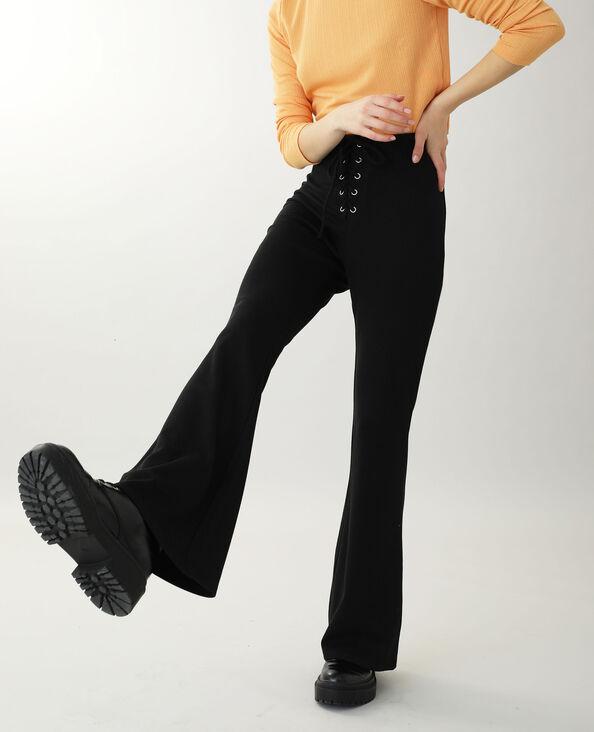 Tricot broek zwart
