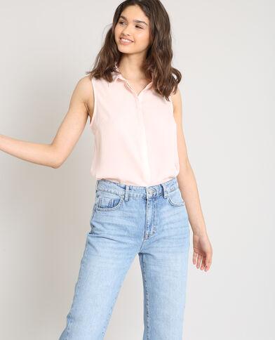 Hemd zonder mouwen roze